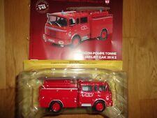 N° 93 BERLIET GAK 20 H 2 Camion Pompier Fourgon Pompe Tonne du SDIS 54 1/43 Neuf