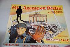 NAC Mi agente en Berlin de 1994 juego de mesa