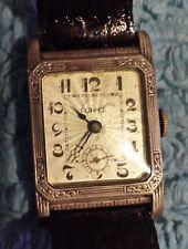 Reloj de pulsera Coppel de plata. Unico.