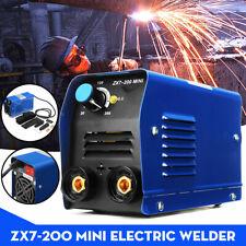 Us Mini Welding Machine Igbt Arc Mma Electric Welder 220v 200a Dc Inverter
