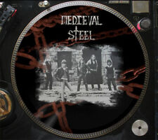 """Medieval Steel – Medieval Steel Ultra Rare 12"""" Picture Disc Promo Single LP"""