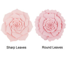 Large paper flowers for sale ebay 203040cm paper flower backdrop wall large rose flowers diy wedding party decor mightylinksfo