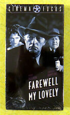 Farewell My Lovely ~ New VHS Movie Video  1975 Charlotte Rampling Robert Mitchum