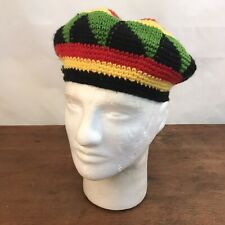Colorful Knitted Kufi Beret Beanie Hat Cap One Size Stretch (CH36)