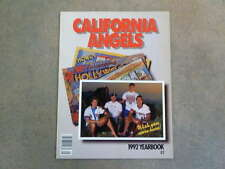 CALIFORNIA - ANAHEIM BASEBALL YEARBOOK - 1992 - NEAR MINT