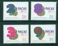 Macao-Macau Scott #855-858 MNH Lucky Numbers CV$4+