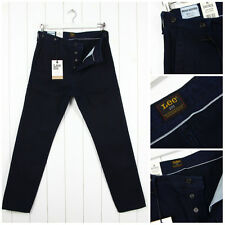 NEW LEE 101 CHINO 11oz SELVEDGE BEDFORD FABRIC SLIM TAPERED FIT JEANS _ALL SIZES