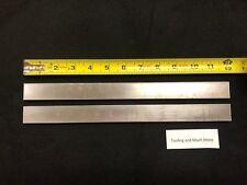 "5/16"" thk  x 1.00"" steel 1018  Flat Bar, plate  12.00"" long 2pcs"