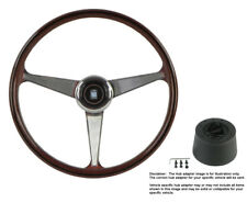 Nardi Steering Wheel Anni 60 -380 mm Wood with Hub for Ford Escort 4/86-9/89