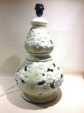 Pied de lampe du XXe siècle en céramique | eBay
