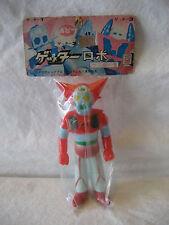 """vintage Popy GETTER ROBO vinyl toy 4"""" Japanese robot hero sofubi Getta 1 shogun"""