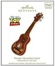 2012 Hallmark Woody's Roundup Guitar Sound Magic Ornament!