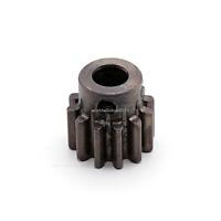 1.5M12T 45# Steel Spur Pinion Gear 1.5Mod 12T Bore 8mm Outer Diameter 21mm 1Pcs