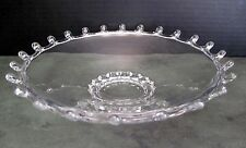 Classic Heisey  LARIAT Glass Low Serving Bowl With Maker's Mark - EXCELLENT!