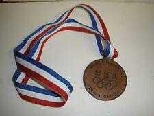 HTF 2004 US OLYMPIC TEAM ATHENS GREECE BRONZE SOUVENIR MEDAL OLYMPICS