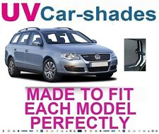 Volkswagen Passat Estate 05-11 Uv coche Tonos Ventana Sol Ciego de privacidad de Cristal Tinte