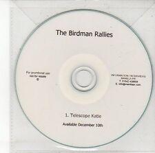 (DV451) The Birdman Rallies, Telescope Katie - DJ CD