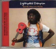 (BV494) Lightspeed Champion, Tell Me What It's Worth - DJ CD