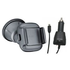 NEW NOKIA CR115 CR-115 CAR HOLDER & MICRO USB CAR CHARGER N8 N9 E5 E7 LUMIA 800
