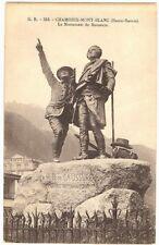 CPA 74 Haute-Savoie Chamonix Monument de Saussure