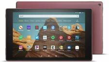 "Amazon Kindle Fire HD 10 Tablet (10.1"", 64GB) Plum 2019 Latest Edition"