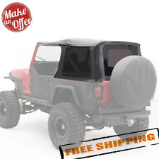 Smittybilt Replacement Soft Top With Tinted Windows For 1987 1995 Jeep Wrangler Yj Fits 1994 Jeep Wrangler
