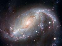ART PRINT POSTER SPACE STARS GALAXY SPIRAL UNIVERSE HUBBLE COSMOS NOFL0409