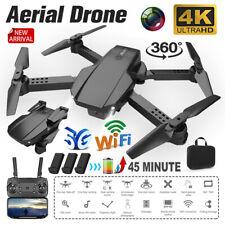 Faltbar WIFI FPV Drohne 4K Kamera Selfie Quadrocopter RC Drone mit 3 Batterien