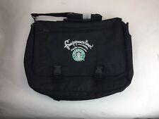Air-Tex Starbucks Frappuccino Drink Laptop Bag Messenger Advertising Black