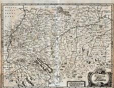 SCHWABEN Landkarte von Merian 1643 - schönes Original, Ebay Sonderpreis!