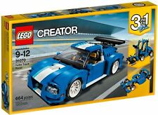 Lego 31027 Creator 3 in 1 Blue Racer Buggy Snow Plough Brand New Sealed Retired