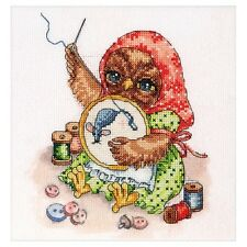 Cross Stitch Kit Owl Alisena Point de croix Punto de cruz