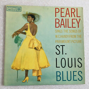 PEARL BAILEY sings WC HANDY St Louis Blues Paramount Picture Lp Vinyl Record