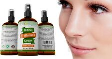Suero Anti-Arrugas Para La Cara, Vitamina C y Retinol, Todorganic 100% Natural