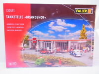 "64553 Faller Ho 130591 Station D'Essence "" Brandshof "" Neuf Emballage D'Origine"