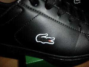 Lacoste Sneakers Carnaby Evo Bl 3 Suj Kinder Schuhe Gr. 36 Schwarz NEU +++++++++