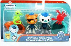 Fisher-Price Octonauts Explore & Rescue Pack Children's Toy Figures Playset NEW