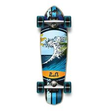 WAVE OCEAN Complete Longboard MICRO Cruiser skateboard with Gel Wheels