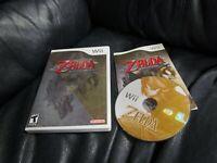 Nintendo Wii The Legend of Zelda Twilight Princess Game