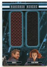 2015 Avengers 2 Age of Ultron Movie DUAL Costume Relic Card AL2-HAB