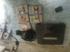 Nintendo 64 Console Bundle N645 games