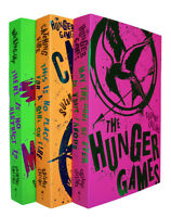 Hunger Games Trilogy Books X 3 Set Suzanne Collins Mockingjay Catching Fire New