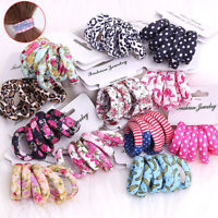 6Pcs Women Girls Hair Band Ties Rope Elastic Ring Headwear Ponytail Holder New z