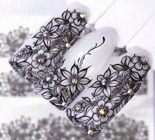 Blüten NailArt Sticker Nagelsticker Nageldesign Tattoo 01333 - 20 Stück