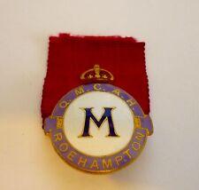 WW1 Q.M.C.A.H. Roehampton enamelled pin badge