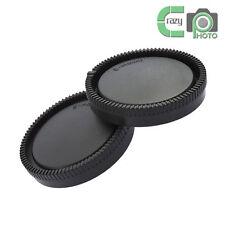 1 SET for Sony E Mount NEX Camera Rear Lens and Body Cap Set A6300 A6000