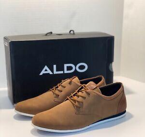ALDO Men's Light Brown Casual Dress Sneaker Shoes light weight Size 13 Aauwen
