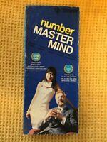 Vintage Number Master Mind Mastermind 1976 Invicta Complete