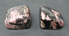 2 Medium Rhodonite Tumbled Stone (Crystal Gemstone Metaphysical Reiki)