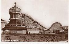 Big Dipper Blackpool Fairground Pleasure Beach unused RP old pc